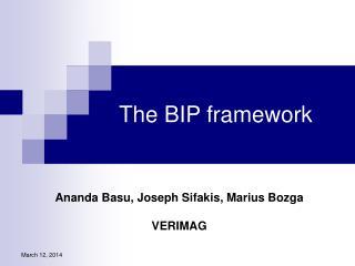 The BIP framework
