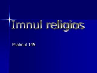 Psalmul 145