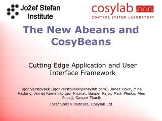 The New Abeans and CosyBeans