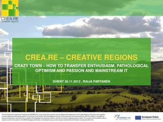 CREA.RE – CREATIVE REGIONS