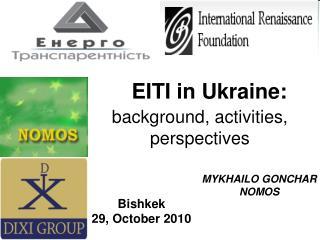 EITI in Ukraine: