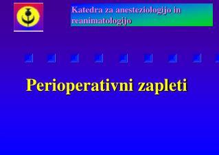 Perioperativni zapleti