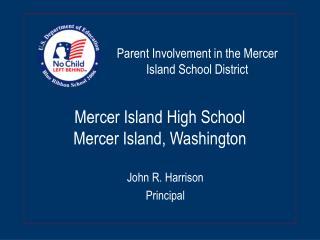 Mercer Island High School Mercer Island, Washington