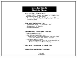 Introduction to The Life Model