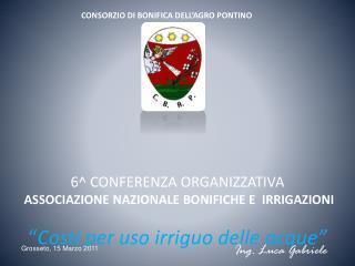 CONSORZIO DI BONIFICA DELL�AGRO PONTINO