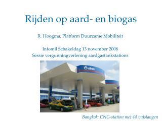 Rijden op aard- en biogas