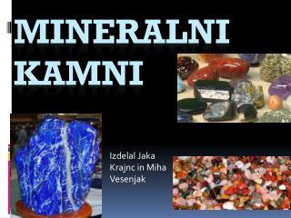 mineralni kamni