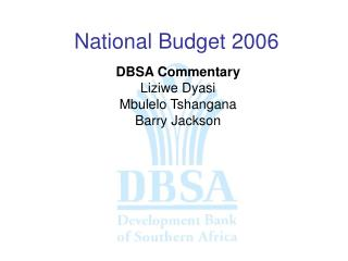 National Budget 2006