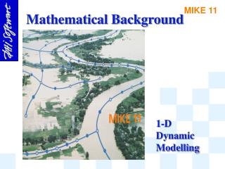 1-D Dynamic Modelling