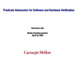 Predicate Abstraction for Software and Hardware Verification