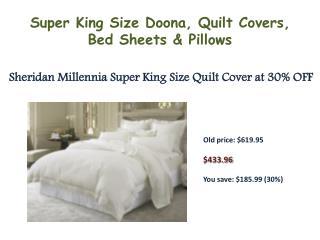 Sheridan Declan Super King Quilt Cover