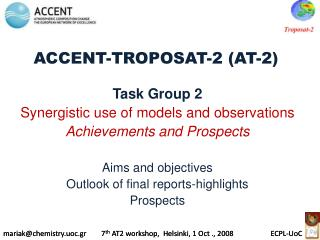 ACCENT-TROPOSAT-2 (AT-2)