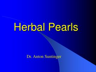Herbal Pearls