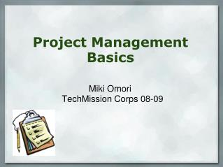 Project Management� Basics�