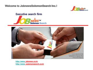 Executive search firm