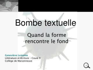 Bombe textuelle