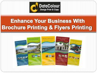Enhance Your Business With Brochure Printing & Flyers Printi