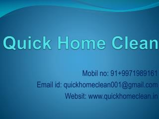 House Cleaning Service In Delhi/NCR