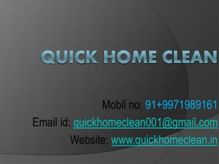 House Cleaning Service In Gurgaon