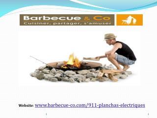 Plancha électrique Modèles - Barbecue & Co.