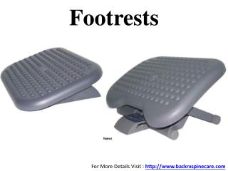 Ergonomic Footrests