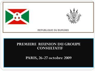REPUBLIQUE DU BURUNDI