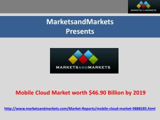 Mobile Cloud Market