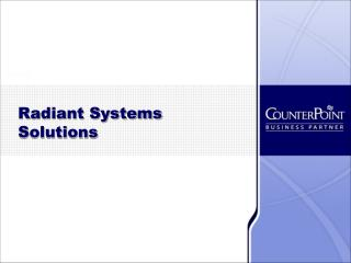 Radiant Systems Solutions
