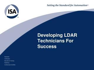 Developing LDAR Technicians For Success