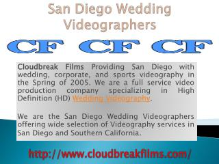 California Wedding Videographers