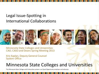 Legal Issue-Spotting in  International Collaborations