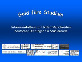 Geld f rs Studium