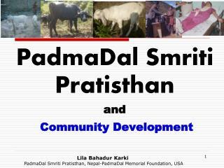 PadmaDal Smriti Pratisthan and  Community Development