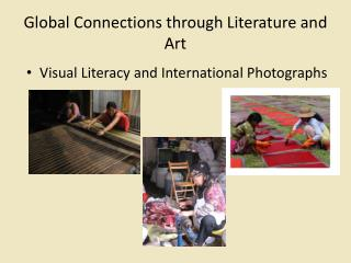 Global Connections through Literature and Art