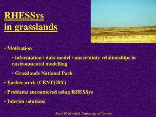 RHESSys  in grasslands