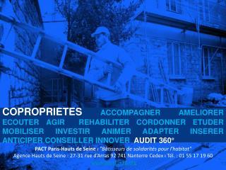 """PACT Paris-Hauts de Seine  ı  """"Bâtisseurs de solidarités pour l'habitat"""""""