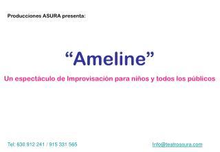 Producciones  ASURA  presenta:
