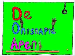 Er waren eens drie apen: Chipie, Banano en Ananasie. Ze woonden in de zoo van Roosendaal