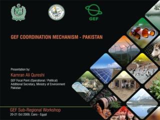 Introduction  Previous  GEF Coordination Setup  GEF Coordination Levels