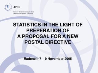 EU Postal Policy