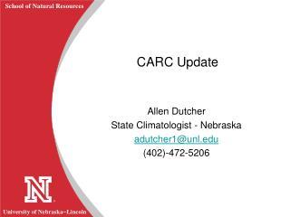 CARC Update