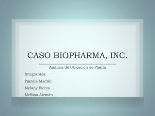 CASO BIOPHARMA, INC.