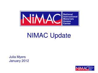 NIMAC Update