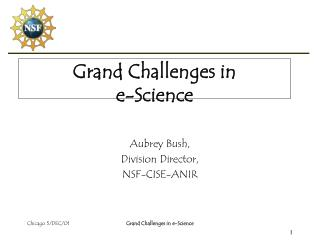 Grand Challenges in  e-Science