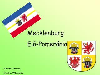 Mecklenburg Elő-Pomeránia