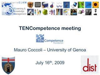 TENCompetence meeting