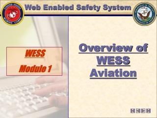 WESS  Module 1