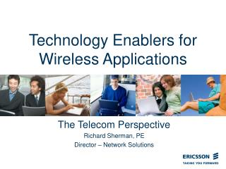 Technology Enablers for Wireless Applications