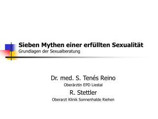 Sieben Mythen einer erf llten Sexualit t Grundlagen der Sexualberatung
