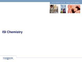 ISI Chemistry